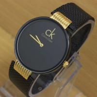 harga Jam Tangan Wanita / Cewek Calvin Klein 000 Hitam Gold Tokopedia.com