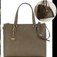 Tas DKNY original bahan saffiano leather