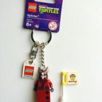 Lego Original Keychain Splinter Minifigure TMNT Ninja Turtle