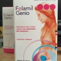 Folamil Genio multivitamin kehamilan