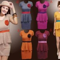 harga dress korea anabel Tokopedia.com