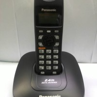 harga Telephone Wireless Cordless Phone Panasonic Kx-tg3611 Black Tokopedia.com