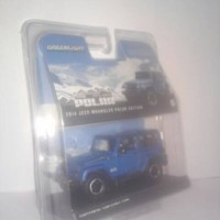 GREENLIGHT 1:43 JEEP WANGLER 2014 POLAR EDITION