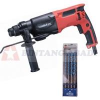 Maktec Mesin Bor Hammer MT870 + Bitec Mata Bor SDS Plus Set 4 Pcs