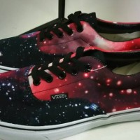 Vans Era Galaxy Print Red DT