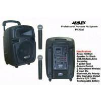 harga Speaker Portable Wireless Meeting Ashley Pa 10m ( 10 Inch ) Tokopedia.com