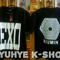 Tshirt Kaos Exo Overdose Xiumin Tao Sehun Kai Chanyeol Chen Baekhyun