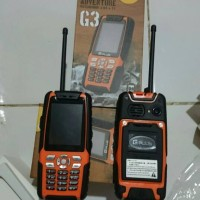 Hp outdoor Gplus G3 Adventure Handphone dengan fitur Handy Talky
