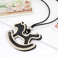 A24950 hitam | kalung panjang import gaya korea koleksi ichika shop