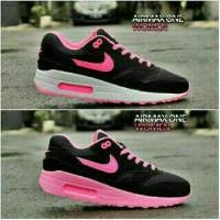 Valentine Sepatu Nike Airmax one Wanita Kado Hadiah + Box