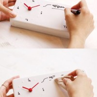 Memo Clock DIY Creative