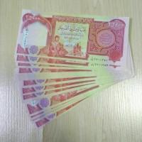 Dinar Iraq Irak Pecahan 25000 IQD Dijamin 100% Asli