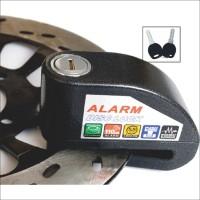 KUNCI ANTI MALING. Disc Cakram Alarm , untuk Sepeda motor Tahan AIR
