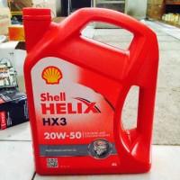 Oli Shell Helix HX3 20W-50 API SL, 4x1 Liter