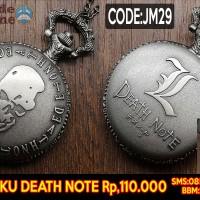 harga Pocket Watch Death Note, Jam Saku Anime Deathnote (spade Anime) Tokopedia.com