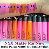 GROSIR NYX LIP CREAM Soft Matte (Lipstick Cream) WARNA RANDOM