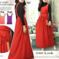 Jual maxi dress overall twiscone Murah