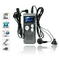 USB Voice Recorder 8gb Baterai cas bisa Mp3 /Alat perekam suara