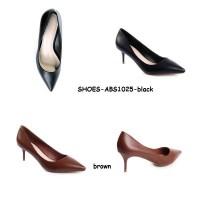 Sepatu Kantor Kerja Pesta Wedges Sandal Flats Heels Boots Korea Import