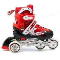 Sepaturoda powerline Bajaj/ Sepatu Roda Murah / Powerline Bajaj Merah