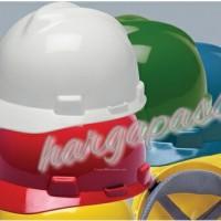 Helmet msa usa v gard fast track,helm safety,