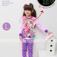 Piyama Anak : My Little Pony Celana Ungu