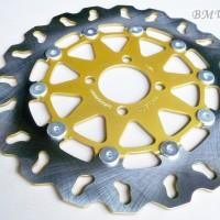 harga Piringan Cakram Disc Brake Supra X 125 / Kharisma / Revo 300 Mm Tokopedia.com
