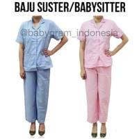 harga Baju Seragam Babysitter / Suster / Perawat Size Xl Tokopedia.com