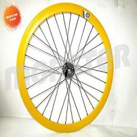 Wheelset origin 8 Hub S1X 32H Rear Yellow/Black