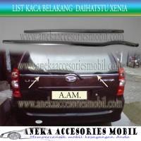 harga List Kaca Belakang/back List Kaca Mobil Daihatsu Xenia Stainless Tokopedia.com