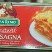Pasta Lasagna Instant San Remo