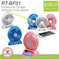 harga Vivan Robot RT-BF01 Power Bank + Kipas Angin + LED Tokopedia.com
