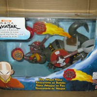 Fire Attack Rhino Avatar Aang The Last Air Bender Action Figure