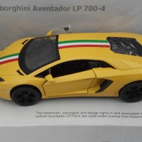DIE CAST KINSMART LAMBORGHINI AVENTADOR LP700-4
