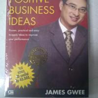 Buku Laris James Gwee - Positive Business Ideas Bonus CD