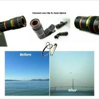harga Lensa Telezoom Universal Clip 8x Optical Zoom ( Jepit ) Tokopedia.com