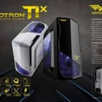 ARMAGGEDDON T1X PUTIH (GAMING, NO PSU, NO SLOT DVD-RW)