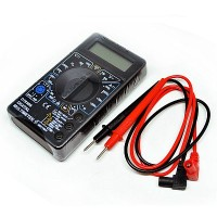Multi Tester Digital Kecil | Pocket Size Digital Multimeter - DT830B