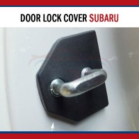 Car Door Lock Cover Protection Mobil Subaru XV Forester Impreza Legacy