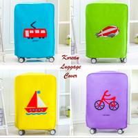 Korean Luggage Cover (Cover pelindung koper dari kotor atau lecet)