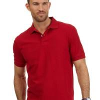 Polo Shirt cowok / Polo Shirt Polos / Kaos Polo Cowok - Merah Cabe S/M