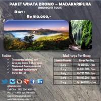 PAKET WISATA BROMO DAN AIR TERJUN MADAKARIPURA MIDNIGHT TOUR