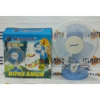 "Matsunichi 2in1 desk wall fan 9""/ kipas angin duduk-tembok kecil"