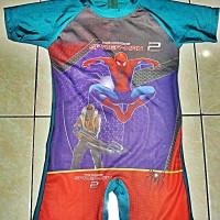 Baju renang anak Diving Karakter Gambar Spiderman