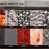Samurai paint/WTP FILM-water transfer printing film 3D