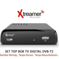 Media Player Pengubah TV Analog Menjadi Digital HD-Xtreamer DVB T2