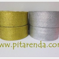 PEGL-04 : Pita Emas Perak 1 inch (PER ROL)