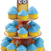 cupcake stand / rak cupcake ulang tahun karakter minion