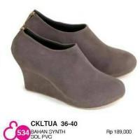 for sale!!! sepatu boots wedges wanita clothing premium distro java