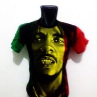 harga Kaos bob marley reggae rasta Tokopedia.com